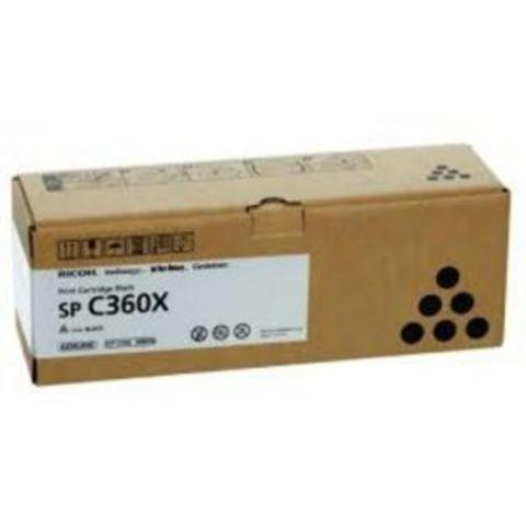 Принт-картридж Ricoh SP C360X, черный. Ресурс 10000 стр. (408250)