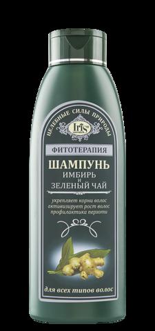Iris Фитотерапия Шампунь Имбирь и Зеленый чай 500 мл