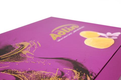 Царская пишмание со вкусом шафрана в подарочной упаковке, Adlin, 420 г
