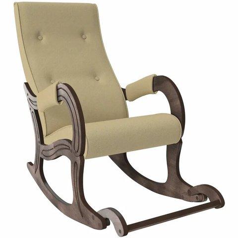 Кресло-качалка Комфорт Модель 707 орех антик/Malta 03, 013.707