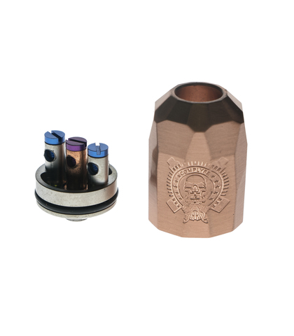 Jaetech Атомайзер (RDA) Battle Deck + Stealth Cap