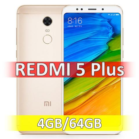Xiaomi Redmi 5 Plus (4-64Gb) Gold