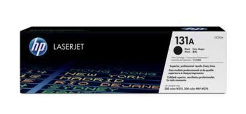 Картридж HP CF210A (131A) для принтеров HP LaserJet Pro 200 Color M251, M276 (черный стандартной емкости, 1400 стр.)