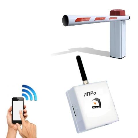 GSM модуль для управления шлагбаумом и воротами