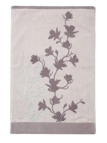 Полотенце 71х137 Kassatex Carissa lavender