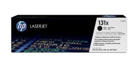 Картридж HP CF210X (131X) для принтеров HP LaserJet Pro 200 Color M251, M276 (черный увеличенной емкости, 2200 стр.)