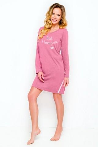 Молодежное платье для дома и отдыха Jula розовое