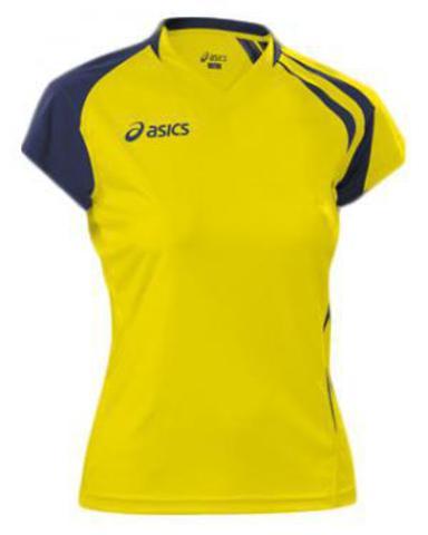 Asics t-shirt fanny lady футболка волейбольная женская