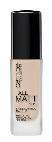 Основа тональная Catrice All Matt Plus Shine Control Make Up тон 010 Light Beige