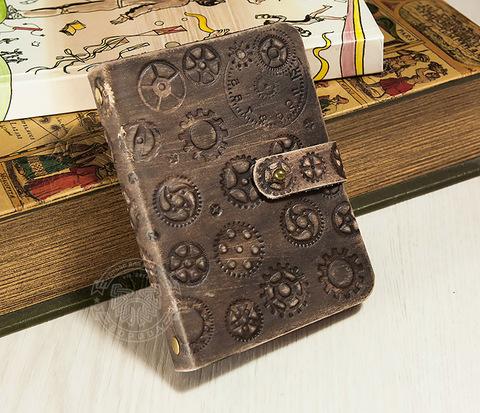 BC116 Оригинальный блокнот на кольцах с тиснением в стиле Стимпанк