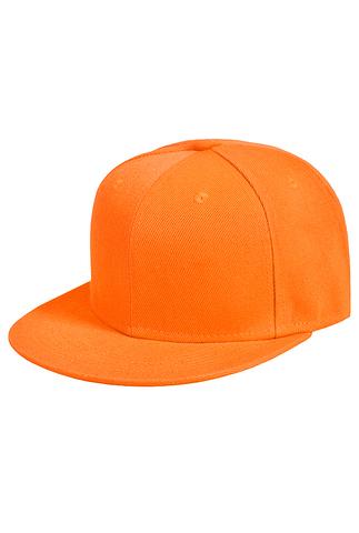 Оранжевая бейсболка фото 1