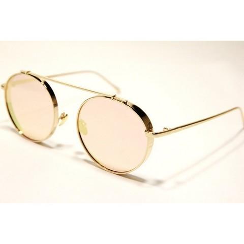 Солцезащитные очки 6002002s Розовые зеркальные