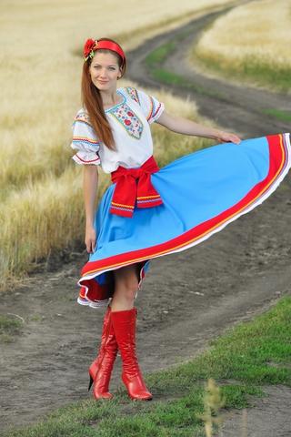 Сценический костюм Кубаночка