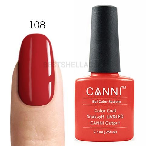 Canni Canni, Гель-лак 108, 7,3 мл 108.jpg