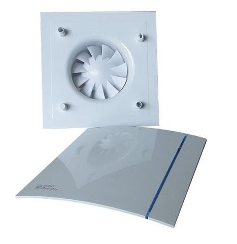 Накладной вентилятор Soler & Palau SILENT-100 CZ DESIGN SILVER