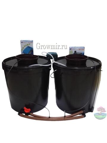 Аквапот с капельным поливом на 2 растения (20л Х 2шт)