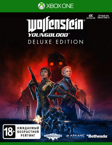 Microsoft Xbox One Wolfenstein: Youngblood. Deluxe Edition (русская версия)