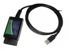 ELM 327 v.1.4-1.5 Green USB