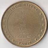 P4339, 2002, Франция, жетон медаль Эйфелева башня