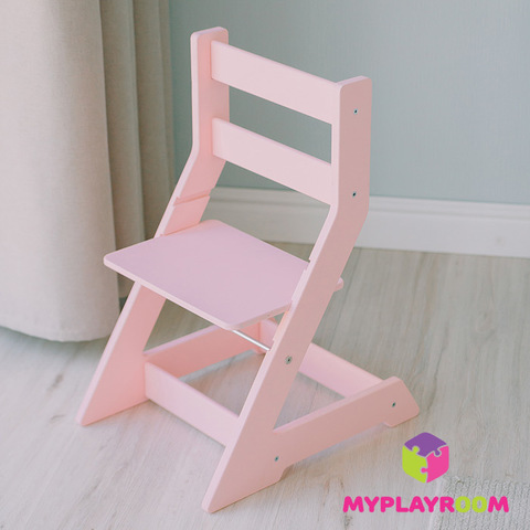 Растущий стульчик, розовый 5