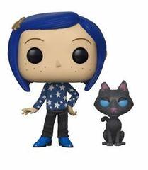 POP Movies: Coraline: Coraline with Cat buddy