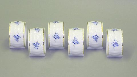 Набор колец для салфеток 6 предметов Соната Leander