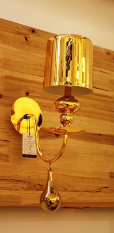 replica   EVA S1 wall lamp gold