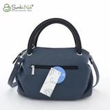 Сумка Саломея 278 синий + черный