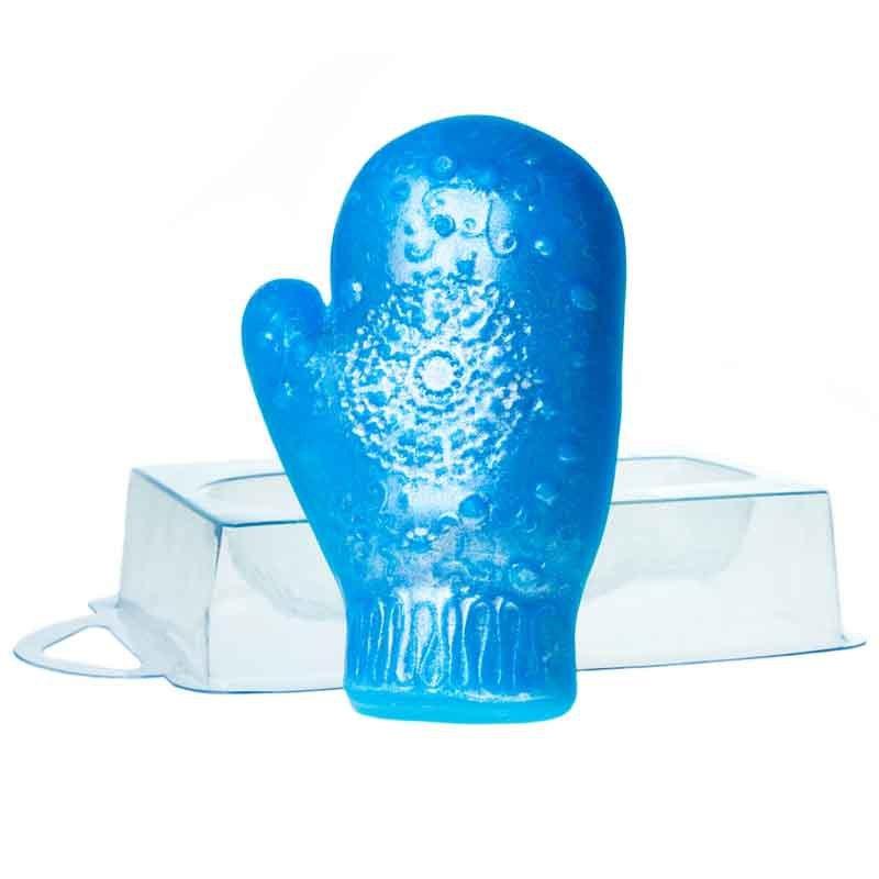 Варежка кружевная форма пластиковая