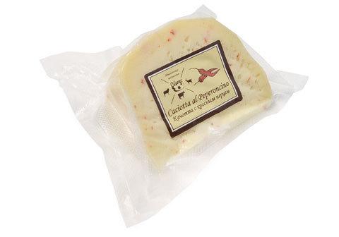 Сыр Качотта с красным перцем~300г