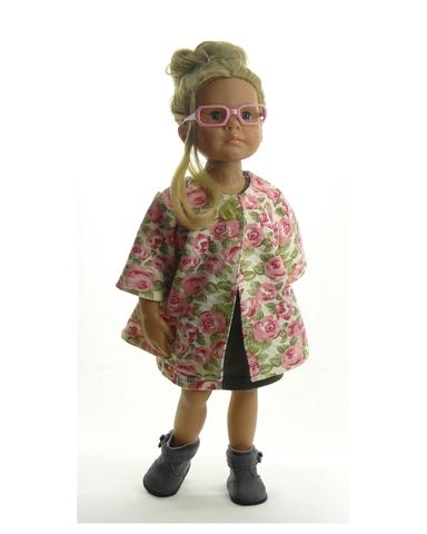 Большой весенний комплект - На кукле. Одежда для кукол, пупсов и мягких игрушек.