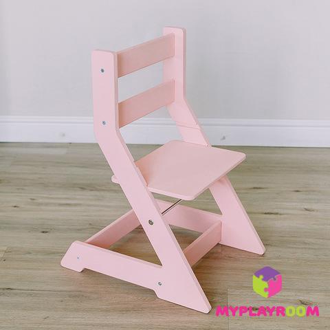 Растущий стульчик, розовый