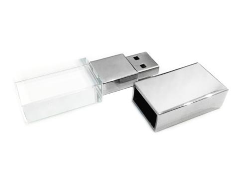 usb-флешка стеклянная