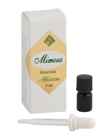 Эфирное масло абсолю Мимоза, 2мл,«Центр Ароматерапии «Ирис»