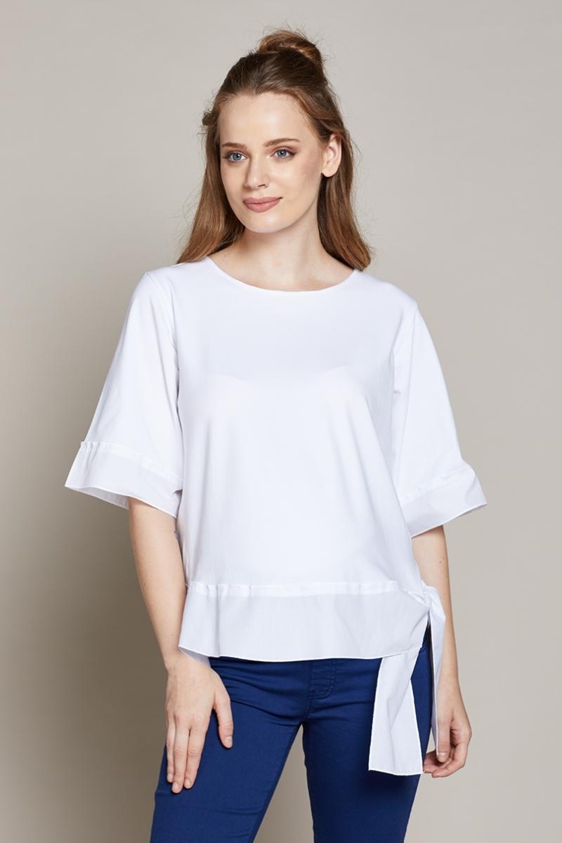 Блузка для беременных 10204 белый