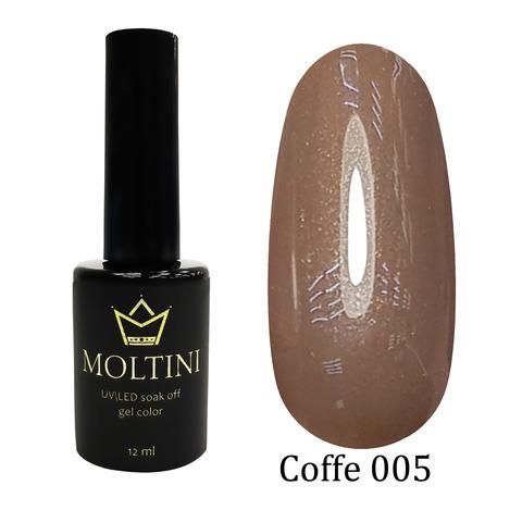 Гель-лак Moltini COFFE 005, 12 ml