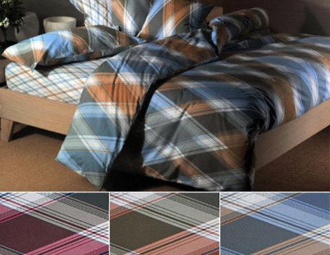 Постельное белье 2 спальное Caleffi London голубое
