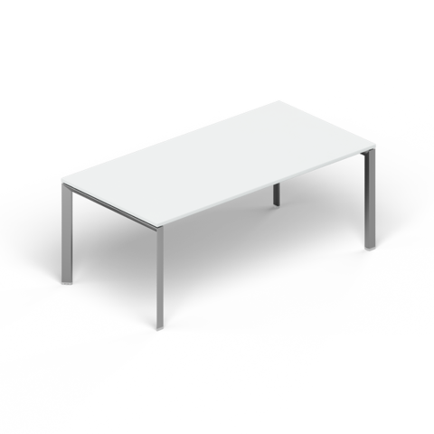 Стол прямой стекло (Orbis)