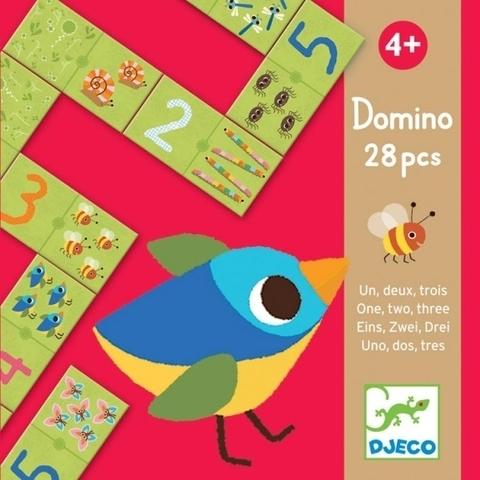 Домино «Раз, два, три»
