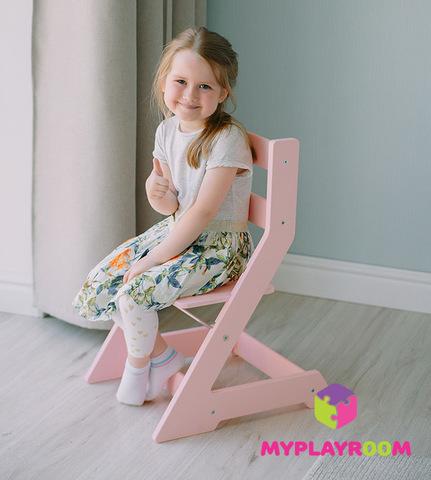 Растущий стульчик, розовый 2