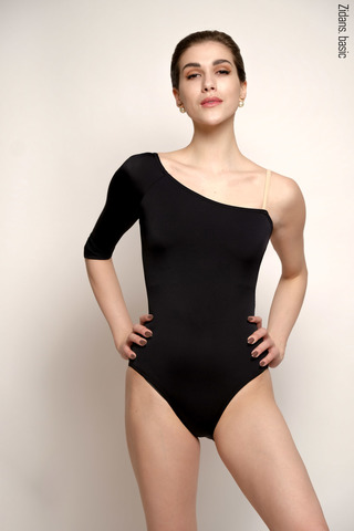 1 Sleeve 1 Strap leotard | basic