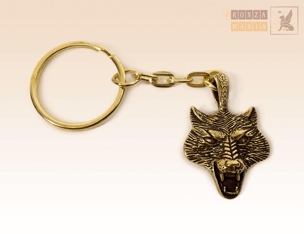 брелок Волк вариант 1
