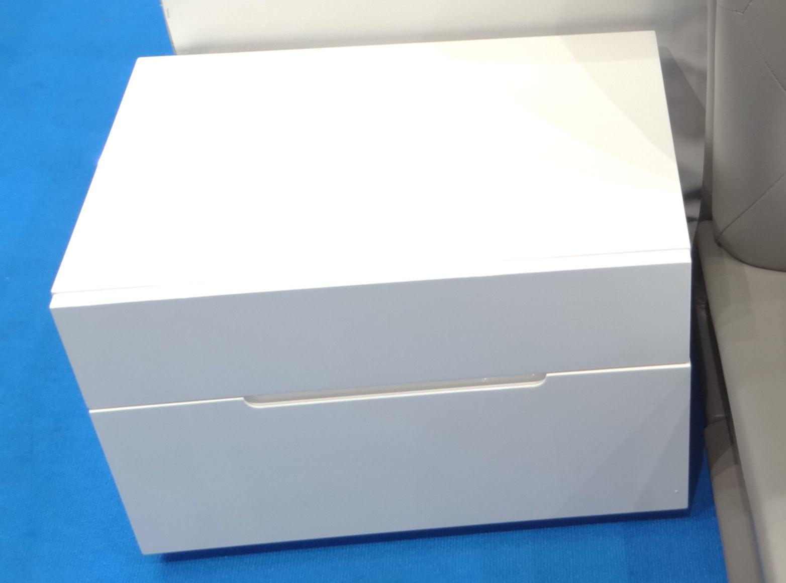 Тумба прикроватная DUPEN (Дюпен) М-100 белая