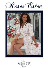 ROSES ESTEE - РОСЕС ЕСТИ женский вафельный  халат  Maison Dor Турция