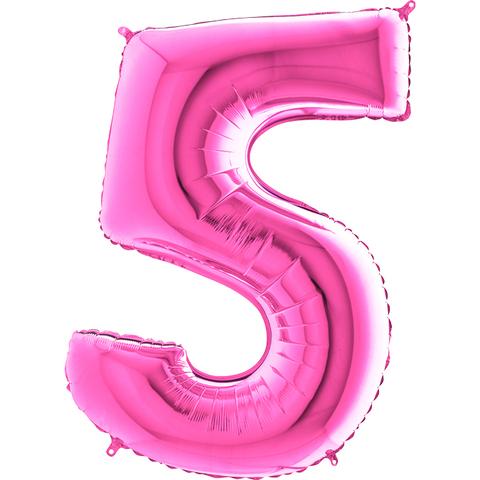 Цифра 5 (Фуксия)