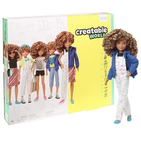 Creatable World Кукла со Светлыми Вьющимися Волосами