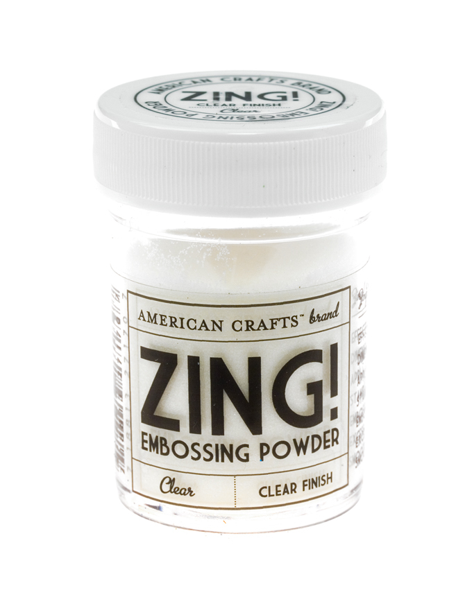 Пудра для эмбоссинга ZING! Clear