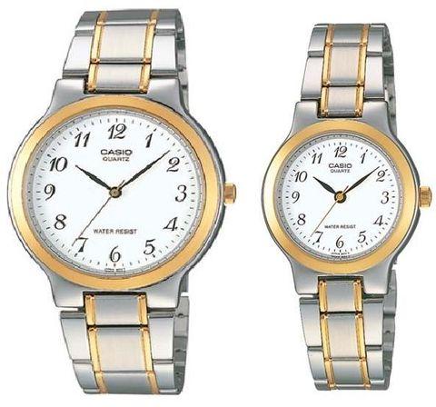 Купить Парные часы Casio Standard: MTP-1131G-7B и LTP-1131G-7B по доступной цене