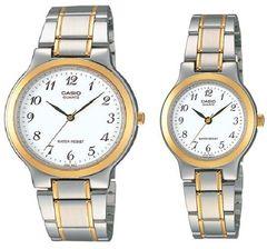 Парные часы Casio Standard: MTP-1131G-7B и LTP-1131G-7B