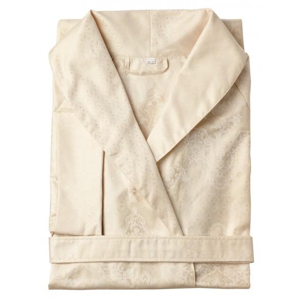 Элитный халат сатиновый Juliette ванильный от Curt Bauer